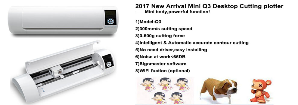Hot sale China supplier cheap price A3 A4 mini desktop vinyl cutting plotter