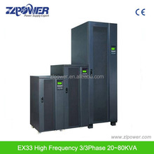 Online high-performance low-frequency three phase UPS