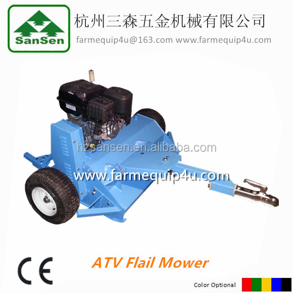 High Quality ATV Lawn Mower Towable Behind Flail Mower atv attachment