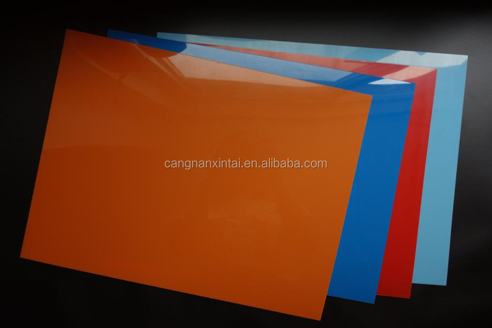 custom size FDA standard colored polypropylene pp plastic sheet