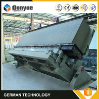 Fly ash/cement/lime/gypsum/aluminum paste aac lightweight wall panel machine