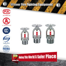 Online shop Fire sprinkler automatic glass bulb fire sprinkler for sale