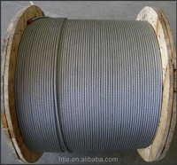 fiber, sisal and steel core of the steel wire rope for lifts or Elevator Ropes 6*19+FC(IWR)
