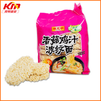 Delicious mushroom chicken flavor chinese instant noodles