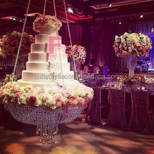 crystal cake stand for wedding party