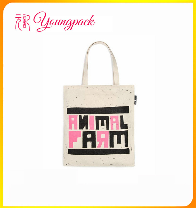 China cheap professional heat transfer printed cotton tote bag