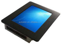 P080S 8 inch industrial touch screen mini embedded windows or linux usb 8 inch capacitive touch screen monitor