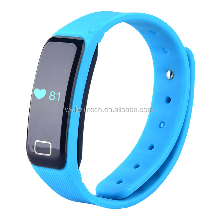 Bluetooth Smart Bracelet Watch Wristband Sports Fitness Tracker Pedometer Step Counter Tracking Calorie for Android IOS
