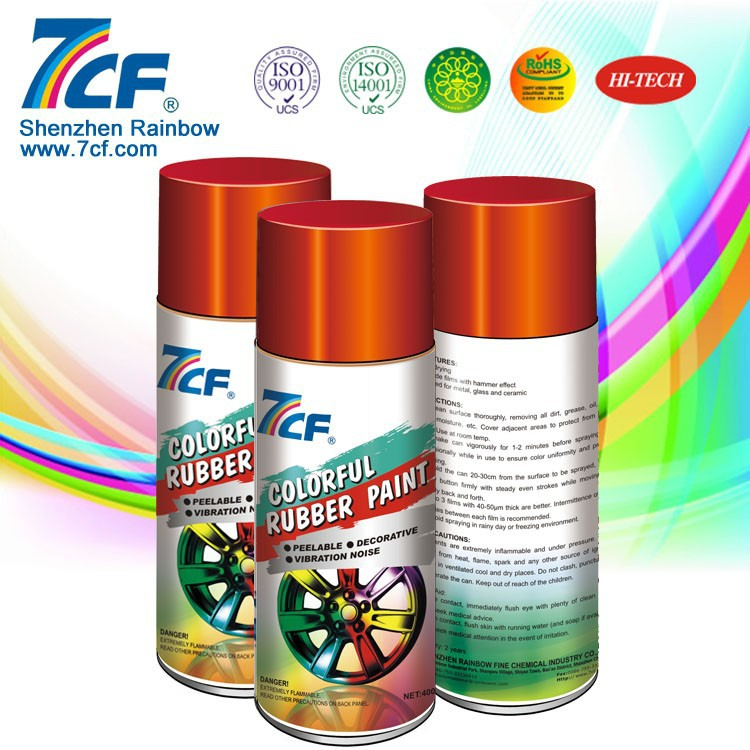 Spray Peelable Plastic Dip Paint To Paint Rubber