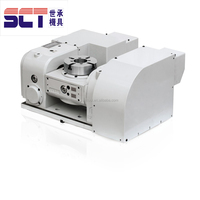 Precision Hydraulic Tilting 14 Inch 5th axis cnc rotary table from China