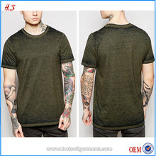 Good Quality China Supplier Clothing Of Best Sell Clothing Manufacturers Overseas Most Popular Items Tshirt With Burnout Design