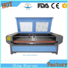 NC-F1810 double head auto feeding table China best laser fabric cutting machine