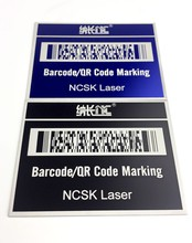 Custom laser/pneumatic marking service