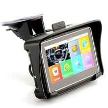 Prolech Waterproof Motorcycle GPS -4.3 Inch Win CE 6.0 Car GPS Navigator - Built in 8GB Flash with Map-FM Transmitter/Bluetoot