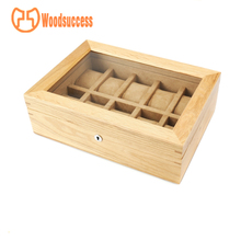 Collection Band Wood Presentation Wooden Display 6 Slot Watch Box 8