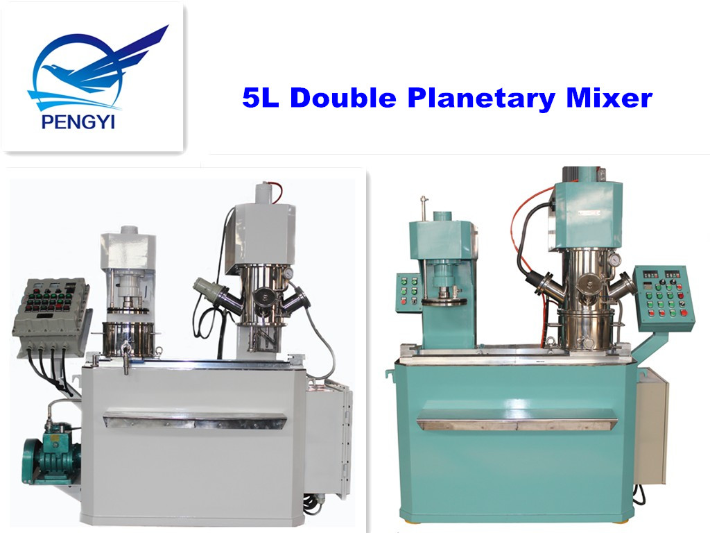 Putty and Glazing compounds vertical variable dual/double planetary vacuum mixer agitator dispenser