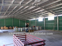 ISO & CE certification prefab steel structure building stainless steel sheds