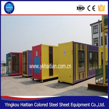 2016 china pop hot sale economic mobile container house/glass modular homes/glass container homes