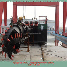 XF sand dredge ship/sand suction pump dredger/cutter suction dredgers hydraulic for sale