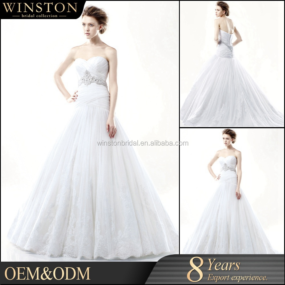 Top Quality Guangzhou Factory Real Sample Latest Alibaba wedding gown