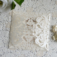 Paper Customized Invitation Laser Cutting Wedding