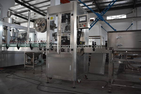New hot-sale bottle label pasting machine