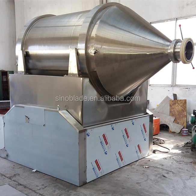 Hot Sell High Efficiency Three Dimensional Shaker Indstrial Size Powder mixer