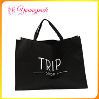 Promotional customized logo printing pp non woven tote bag