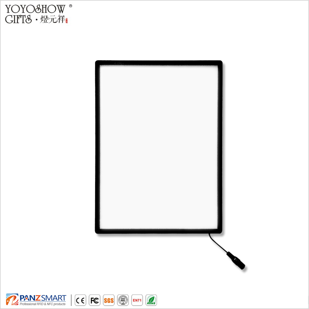 waterproof metal profile indoor outdoor A4 size super thin 8.3mm thickness <strong>led</strong> light <strong>box</strong> of advertising all exhibition or show