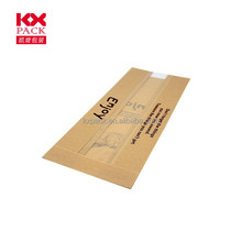 Food Grade Kraft Paper Pouch Toast Packing For Bread Packing