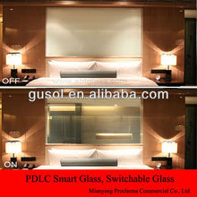 Self-adhesive switchable smart PDLC Film, smart PDLC glass