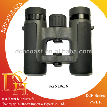 Rubber coated optics binoculars for opear watching