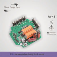 Brushless Motor Controller/ Control Board for 36W 3A Bus Ventilator / Driver Panal/PCB/PCBA/Electrical Circuit/Driver Board