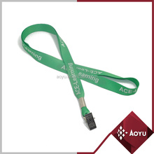 High Quality green ID card holder folder lanyard