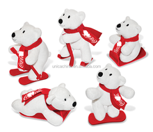 Promotion Cola Audited Factory plush cola sport bear plush toys