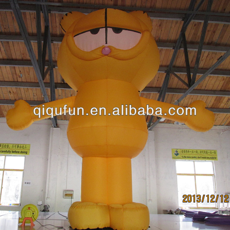 Cheap Garfield Inflatable Advertising Figures for Sale