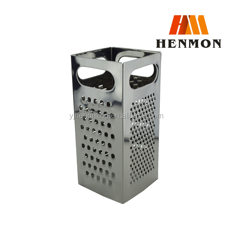 "9"" High Quality 4 Sides Stainless Steel Vegetable Grater"