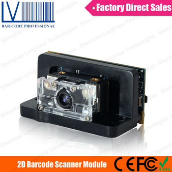 LV2037 1D 2D OEM Barcode Scanner with Display for ATM, and Price Checker
