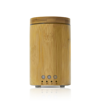 2019 Innovative Real Bamboo ultrasonic aroma diffuser with high quality for spa lobby home from factory