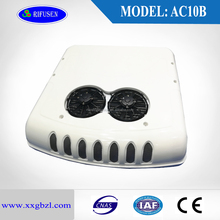 Model:AC10B, high Cooling Capacity 12 volt bus air conditioner for minibus