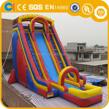 10m High Best seller inflatable slide, cheap hippo inflatable water slide for sale