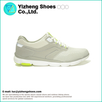 Top Quality PU Support Design Breathable Flyknit Uppers Running Flyknit Shoe