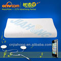 Memory foam Speaker Pillow for iphone & ipad Ipod CE ROHS, SGS PATENT