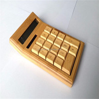 Wholesale Factory Price Bamboo Calculator Wooden