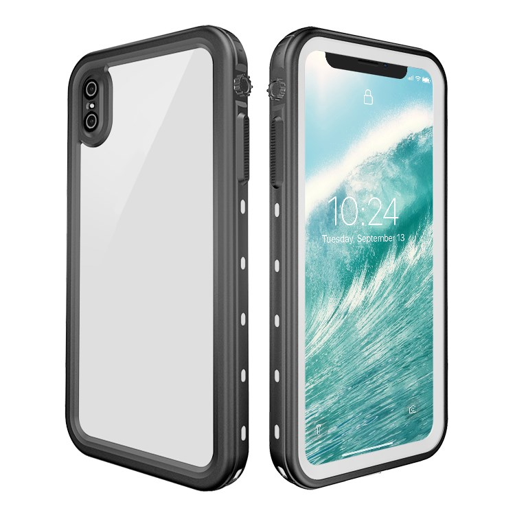 Hight Quality TPU+PC Case Transparent Cell Mobile Phone Case Waterproof Shockproof Drop Resistant Phone Case for iPhone Xs <strong>MAX</strong>
