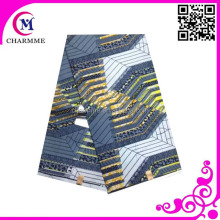 Wholesale veritable flannel fabric nautical print african print kaftans women pajamas design shoe print