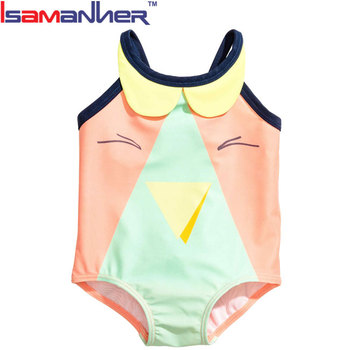 Sexy one piece beach swimming suit lovely little kid's girl bikini