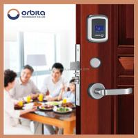 China Free Software rfid key M1 hotel NEW door lock for house or office