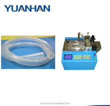 Electronic plastic rubber pvc corrugated shrink tube cutting machine/ pipe cutter