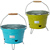 Eco-friendly galvanized BBQ bucket with grill